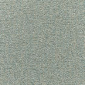 Harrison - Duck Egg - Fabric made from pale grey and seafoam coloured 100% polyester with a speckled finish