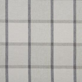 Solway - Pebble - Simple checks in various shades of grey covering 100% polyester fabric