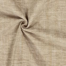 Himalayas - Vellum - Polyester-acrylic-viscose blend fabric in light brown which has a very slight light orange tinge