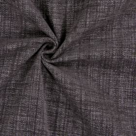 Himalayas - Granite - Polyester-acrylic-viscose blend fabric woven in a dark brown-grey colour