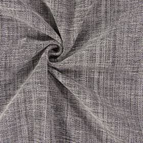Himalayas - Slate - Mid-grey mixed with brown to create a plain polyester-acrylic-viscose blend fabric