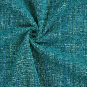Himalayas - Ocean - Various shades of turquoise, green and grey woven into a fabric with polyester, acrylic and viscose