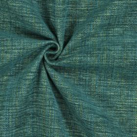 Himalayas - Malachite - Polyester, acrylic and viscose blend fabric made with several different dusky shades of green and blue