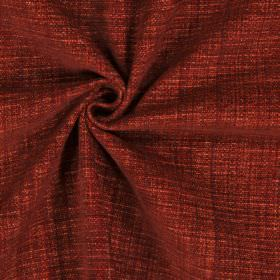 Himalayas - Tabasco - Polyester, acrylic and viscose blend fabric which has been woven in a colour a mixture of burnt orange and blood red
