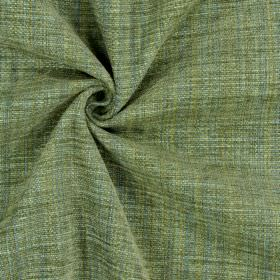 Himalayas - Jade - Various shades of forest green and grey-blue woven into fabric with a polyester, acrylic and viscose blend