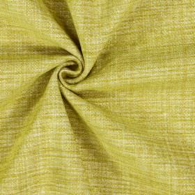 Himalayas - Apple - Mustard yellow coloured polyester-acrylic-viscose blend fabric