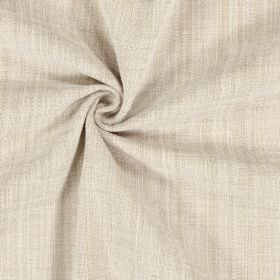 Himalayas - Natural - Polyester, acrylic and viscose blended together into a pale caramel coloured fabric