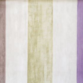 Mika - Lavender - Lavender purple and green striped fabric