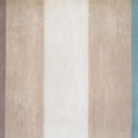 Mika - Marine - Marine blue and deep sandy striped fabric