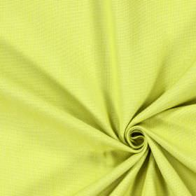 Ontario - Citrus - Plain green cotton fabric in a light apple shade
