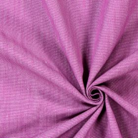 Ontario - Mulberry - Bright, light purple coloured cotton fabric with no pattern