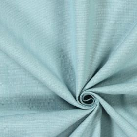 Ontario - Azure - Cotton fabric made in a flat steel grey colour