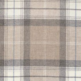 Kintyre - Camel - Camel brown tartan fabric