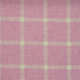 Elgin - Pink - Pink checked fabric