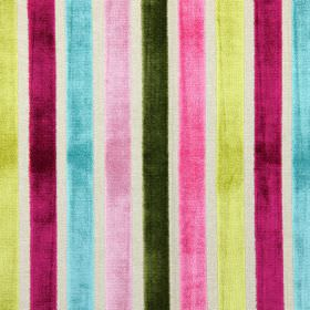 Trapeze - Orchid - Orchid pink and purple modern striped fabric