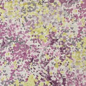 Confetti - Mulberry - Modern fabric with mulberry purple spots