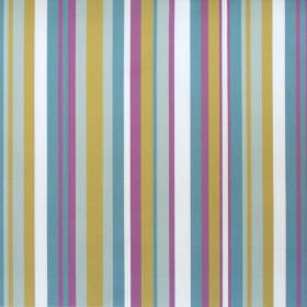 Diana - Heliotrope - Heliotrope purple and blue striped fabric