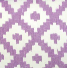 Karok - Amethyst - Amethyst purple cross-hatched fabric