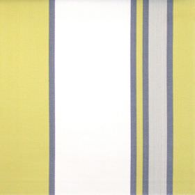 Nootka - Olive - Wide olive green and narrow grey striped fabric