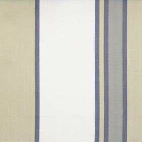 Nootka - Onyx - Wide sandy and narrow grey striped fabric