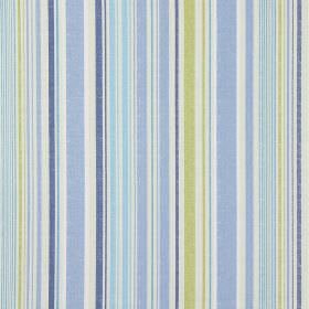 Edgerton - Vintage Blue - Vintage blue striped fabric