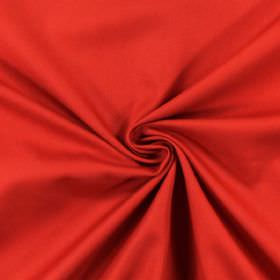 Panama - Red - Plain red fabric