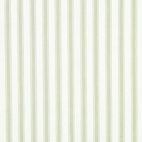 Cable - Linen - Striped cotton fabric with a simple white and light grey design