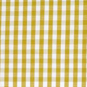 Naval - Olive - Olive green and white tartan fabric