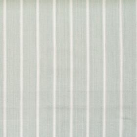 Navigate - Aqua - Wide aqua blue striped fabric
