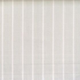 Navigate - Limestone - Wide limestone grey striped fabric