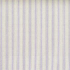 Marine - Liliac - Liliac and white striped fabric