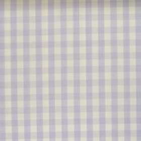 Naval - Liliac - Liliac and white tartan fabric