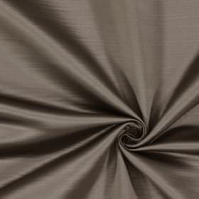 Mayfair - Mole - A subtle effect caused by horizontal lines patterning 100% polyester fabric the colour of pewter