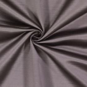 Mayfair - Otter - Mid-grey 100% polyester fabric with subtle effects from horizontal lines and a hint of brown