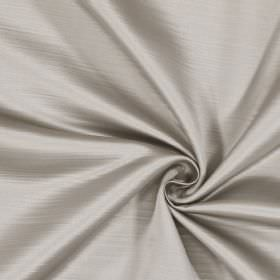 Mayfair - Grey - Oyster coloured fabric made entirely from polyester, with a horizontal striped effect which is very subtle
