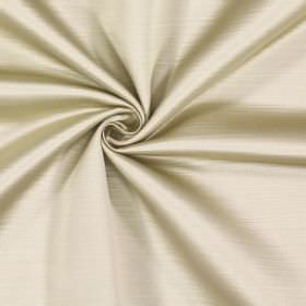 Mayfair - Pumice - 100% polyester fabric with a subtle effect of lines running horizontally in white and limestone colours
