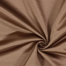 Mayfair - Tobacco - Very pale pink coloured 100% polyester fabric with a subtle horizontal line effect
