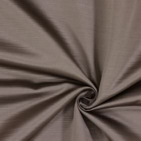 Mayfair - Alpaca - Very subtle horizontal lines covering fabric made from pale lavendar and cream coloured 100% polyester