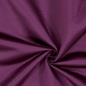 Mayfair - Grape - Deep purple coloured fabric made entirely from polyester