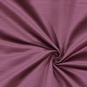 Mayfair - Amethyst - Fabric made entirely from dusky purple coloured polyester