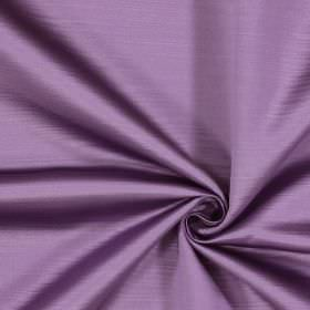 Mayfair - Violet - Subtle horizontal lines running across 100% polyester fabric in lilac