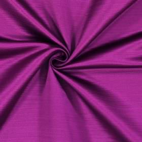 Mayfair - Fuchsia - Magenta coloured fabric made from 100% polyester which has subtle horizontal lines running across it