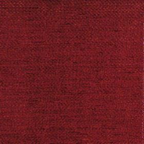 Vita - Terracotta - Plain terracotta red fabric