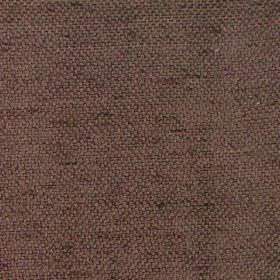 Vita - Chocolate - Plain chocolate brown fabric
