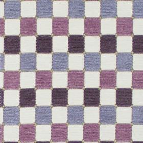 Galileo - Lavender - Lavender purple chequered fabric