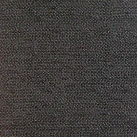 Vita - Noire - Plain noire black fabric