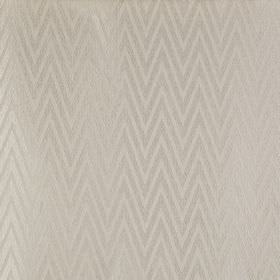 Peak - Natural - Polyester and cotton blend fabric made with a large, narrow, lustrous zigzag pattern in two similar shades of grey