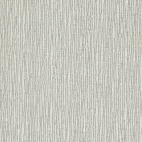 Skyline - Concrete - White cotton fabric with a pattern of closely spaced, narrow wiggly grey lines