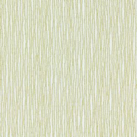 Skyline - Chartreuse - Very closely spaced gold coloured lines which are not straight, on a white cotton fabric background