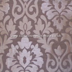 Coba - Lavender - Lavender purple fabric with classic foliage pattern